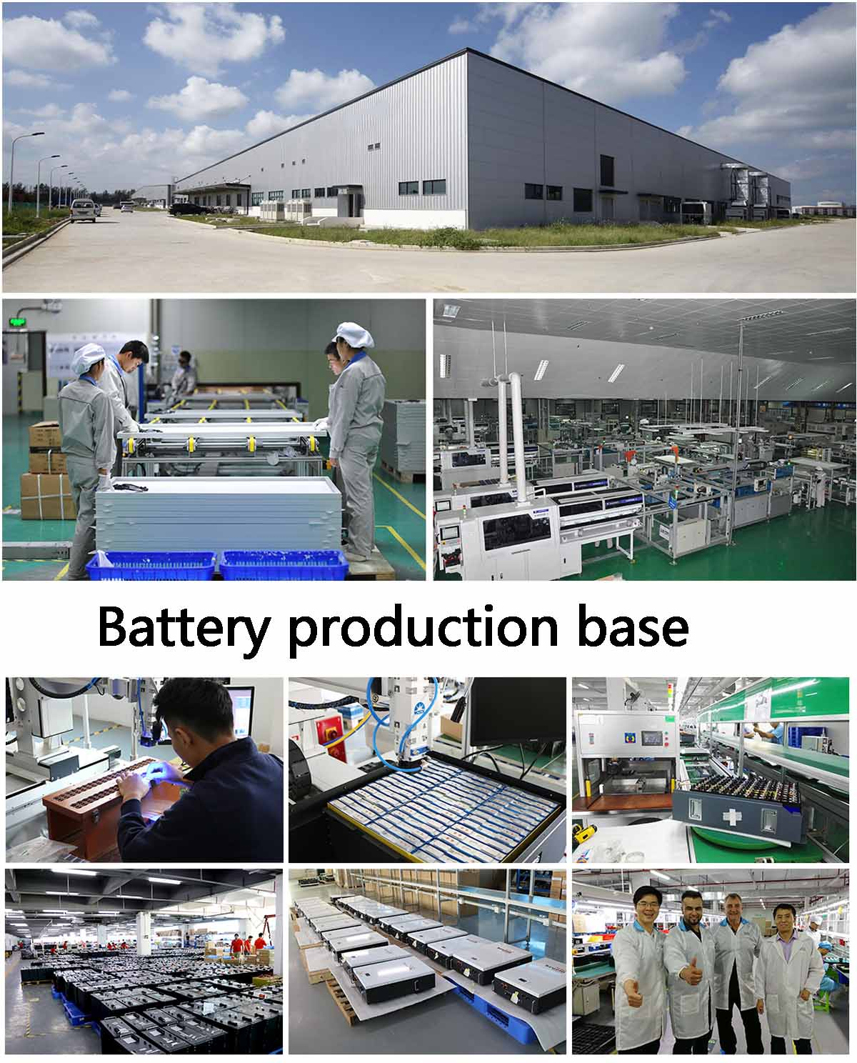 Battery production base